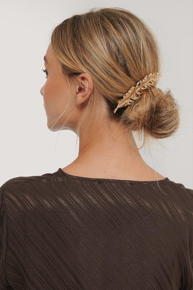 Pince À Cheveux Gold