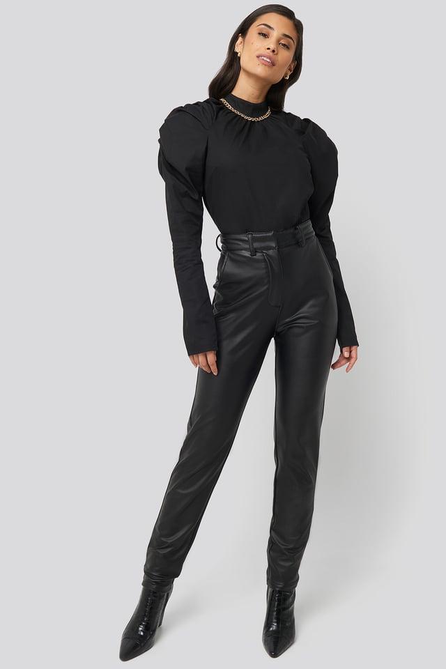 Black Vienna Pants