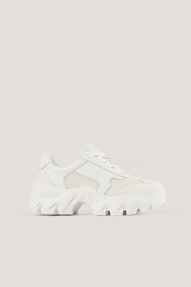 Chunky Sneakers White