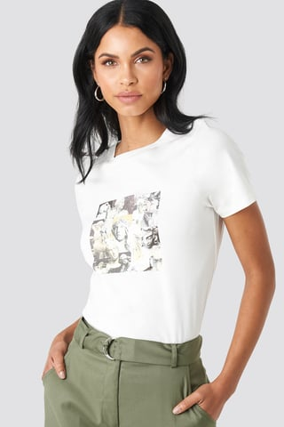 Off White Collage T-shirt