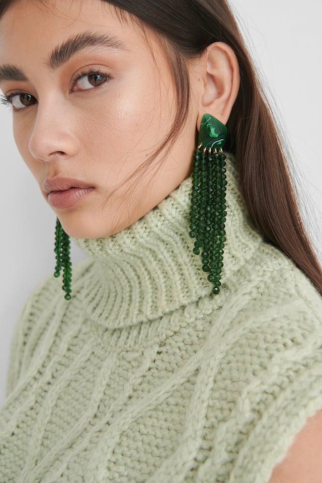 Emerald Boucles D'Oreilles
