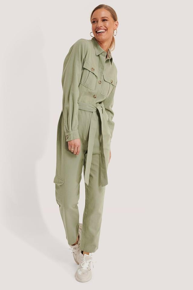 Combinaison Pantalon Green