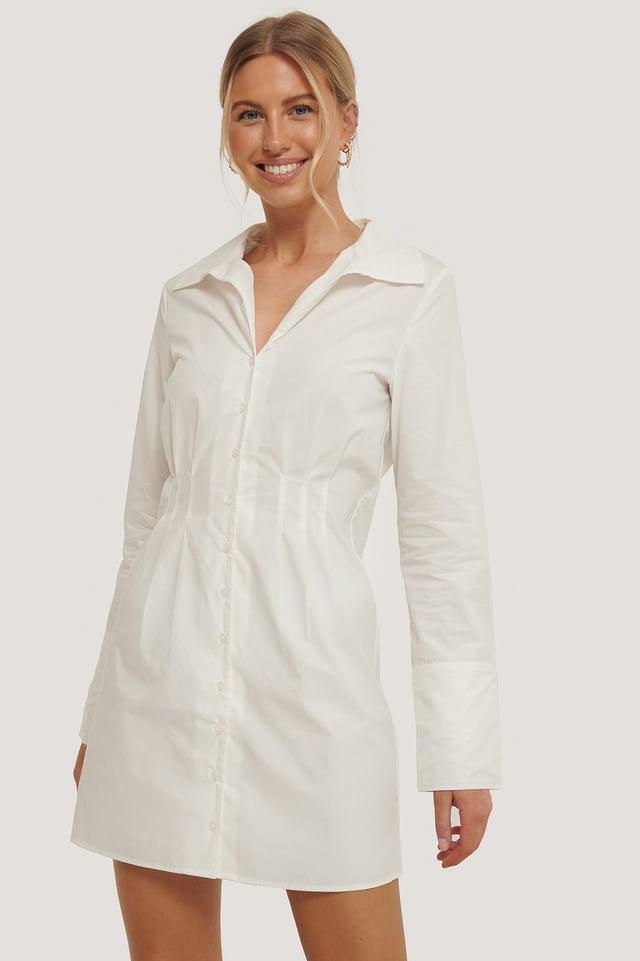 Robe Chemise White