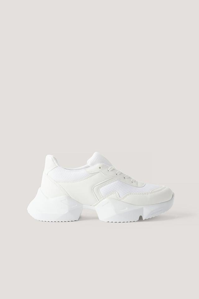 Chunky Sneakers White