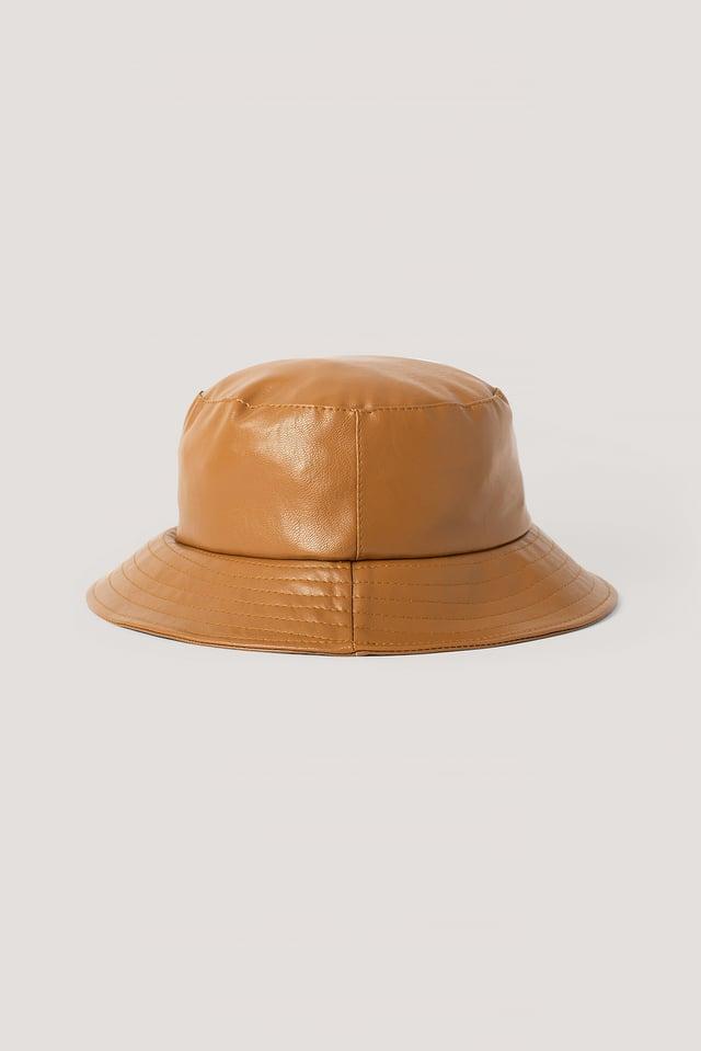 Brown Bob Faux Cuir