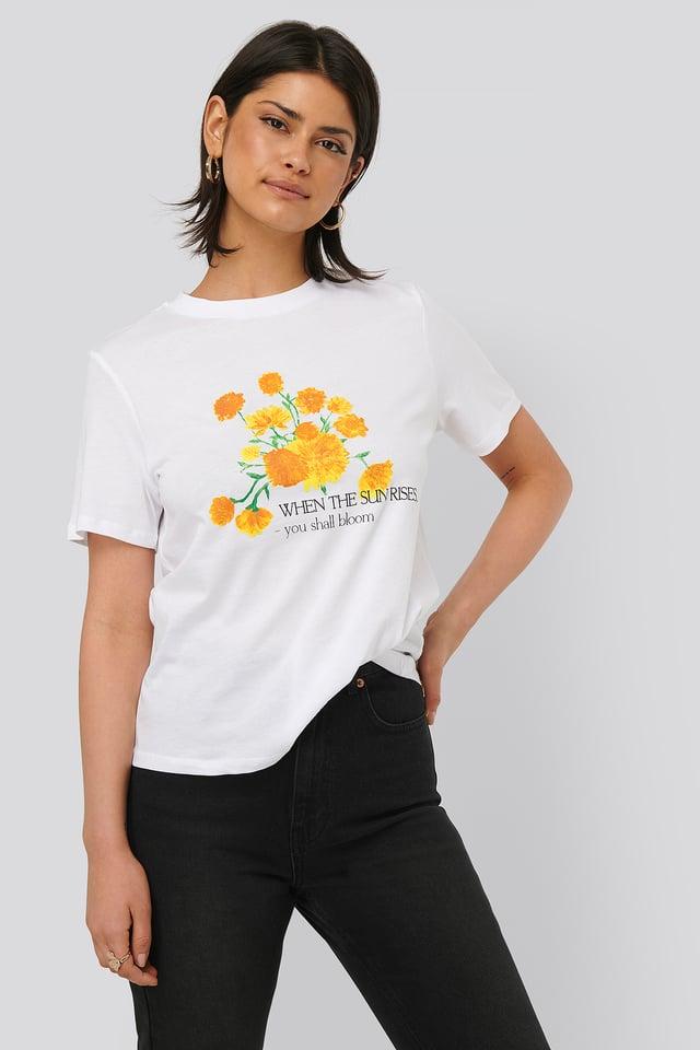 Tee-Shirt Imprimé White