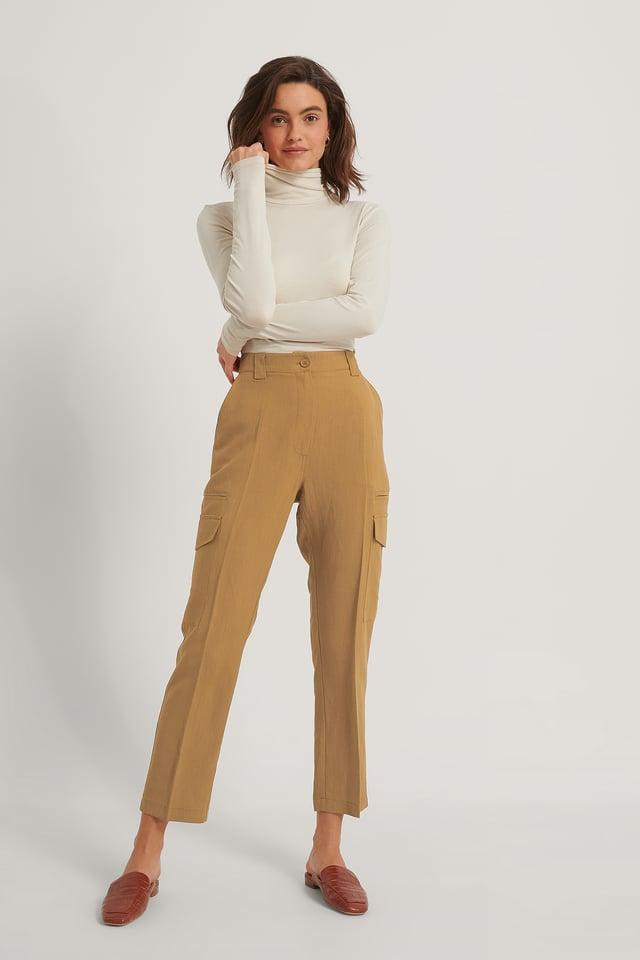 Pantalons Cargo Rust