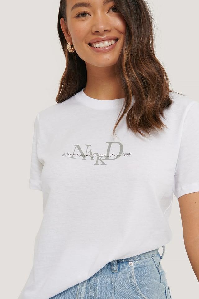 Tee-Shirt Logo White