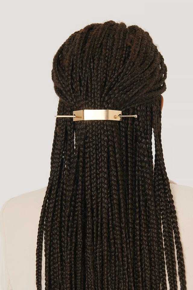 Gold Épingle À Cheveux À Détail