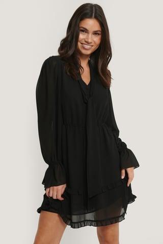 Black Robe Col Haut