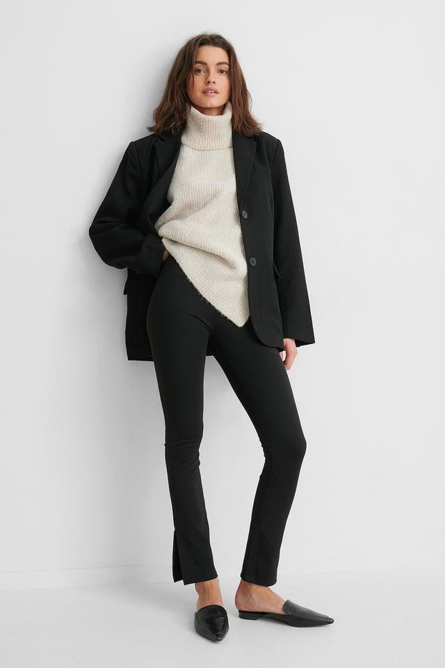 Legging Taille Haute Black