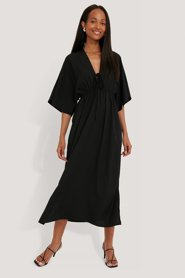 Black Robe De Plage
