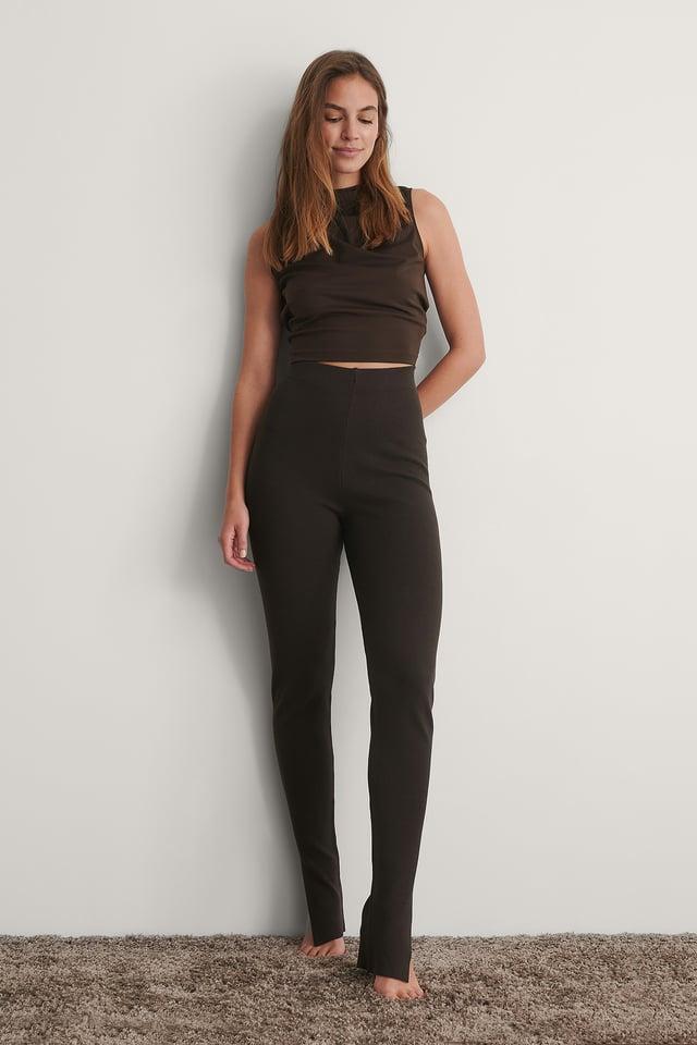 Brown Pantalon