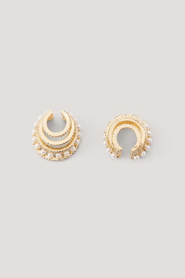 Boucles D'Oreille Manchette Gold
