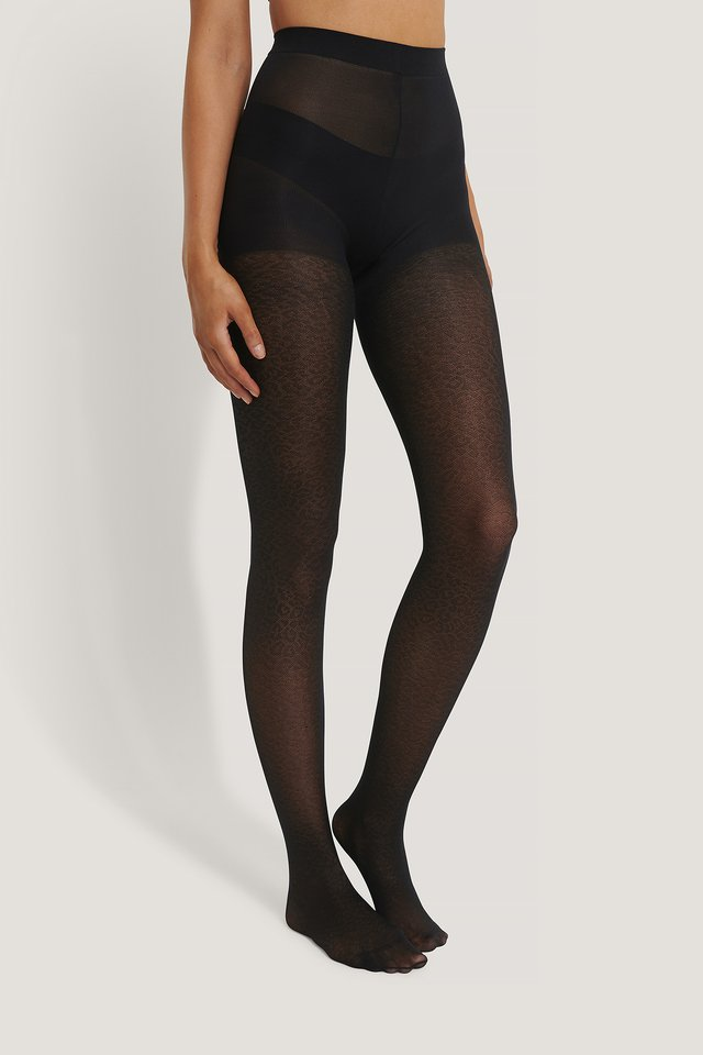 Recyclés Collants Black