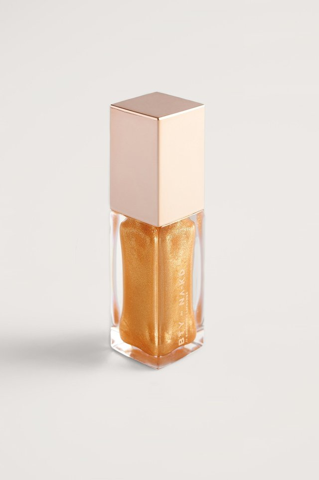 Gold Shimmery Lipgloss