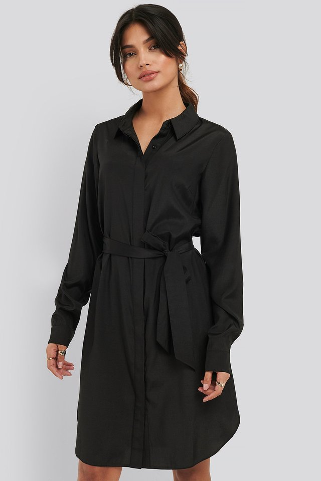 Black Robe Chemise