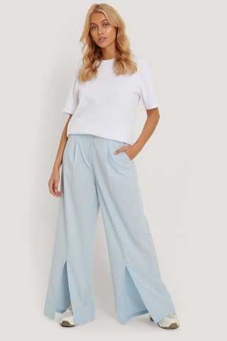 Blue Pantalon Ample