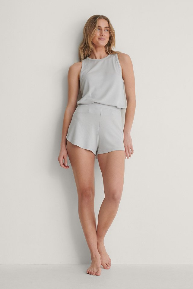 Light Grey Short