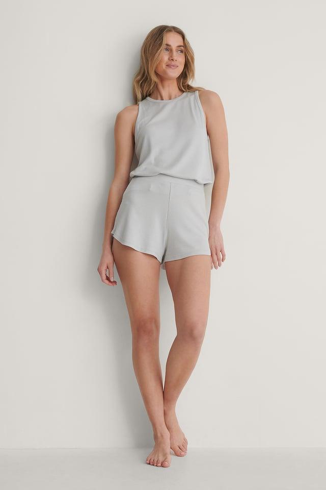 Light Grey Short