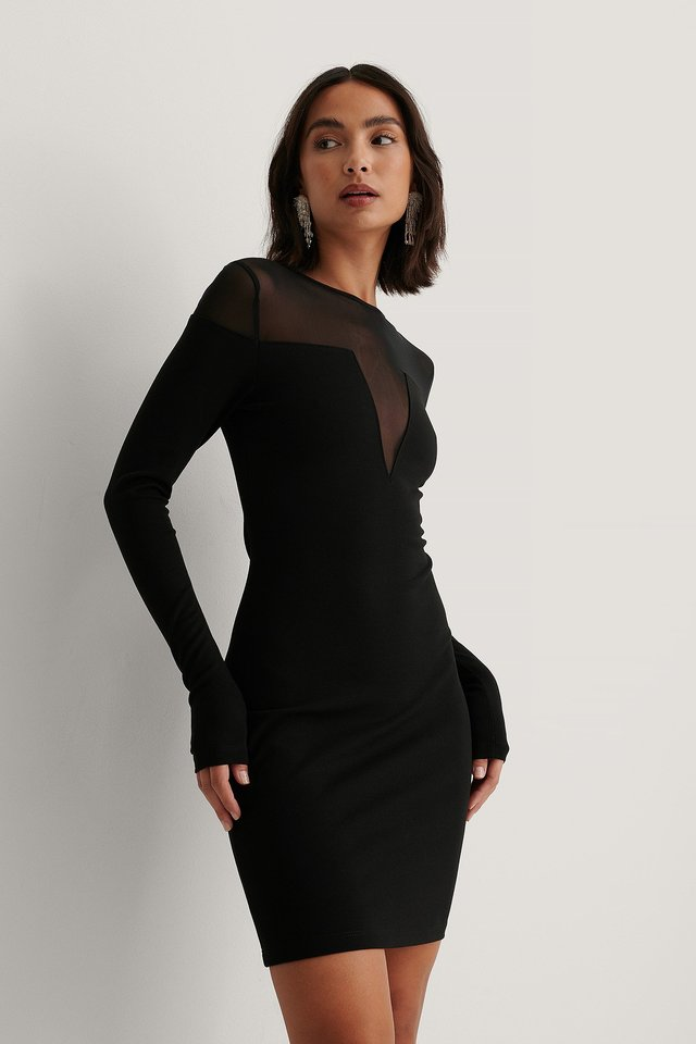 Black Robe Moulante