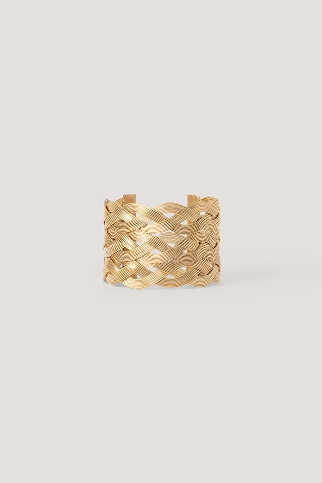 Bracelet Chaîne Épaisse Gold