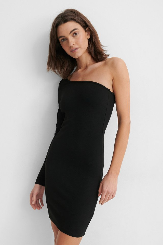 Robe Moulante Black