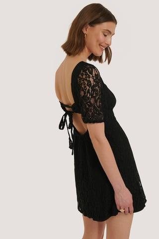Black Robe Dos Ouvert