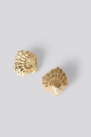 Gold Boucles D'Oreilles Look Marin