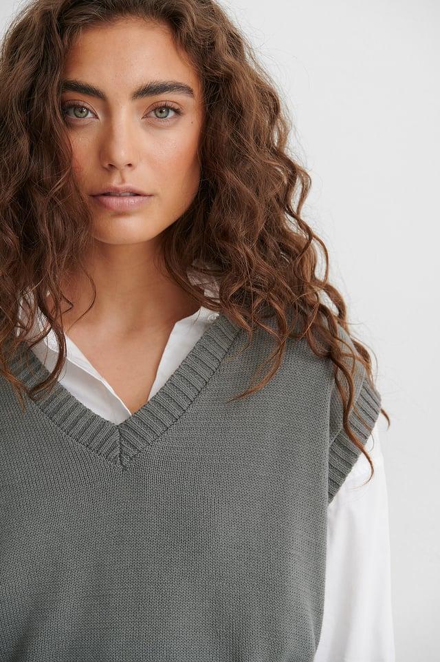 Gilet Grey