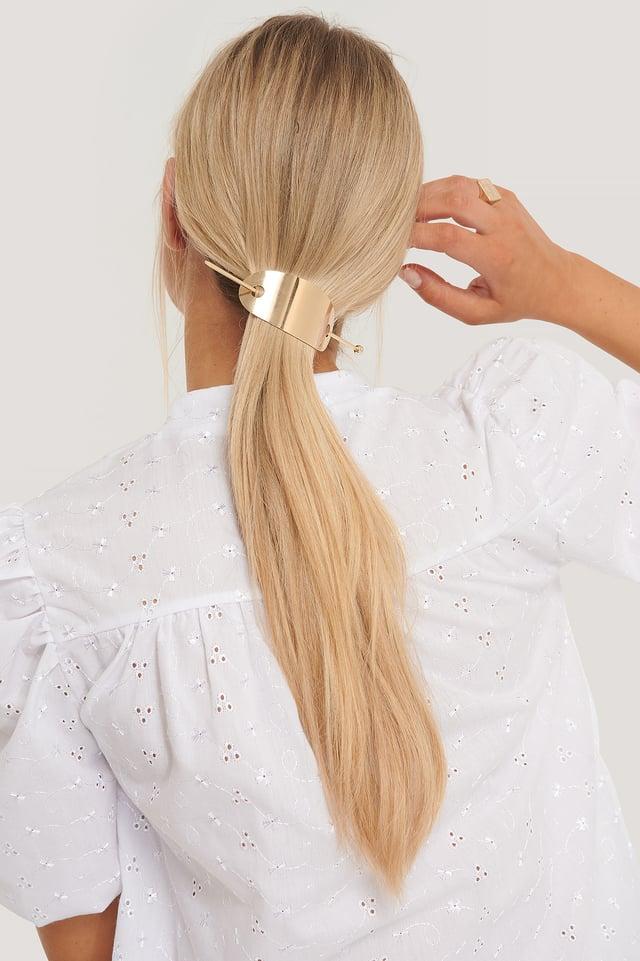 Épingle À Cheveux À Détail Gold