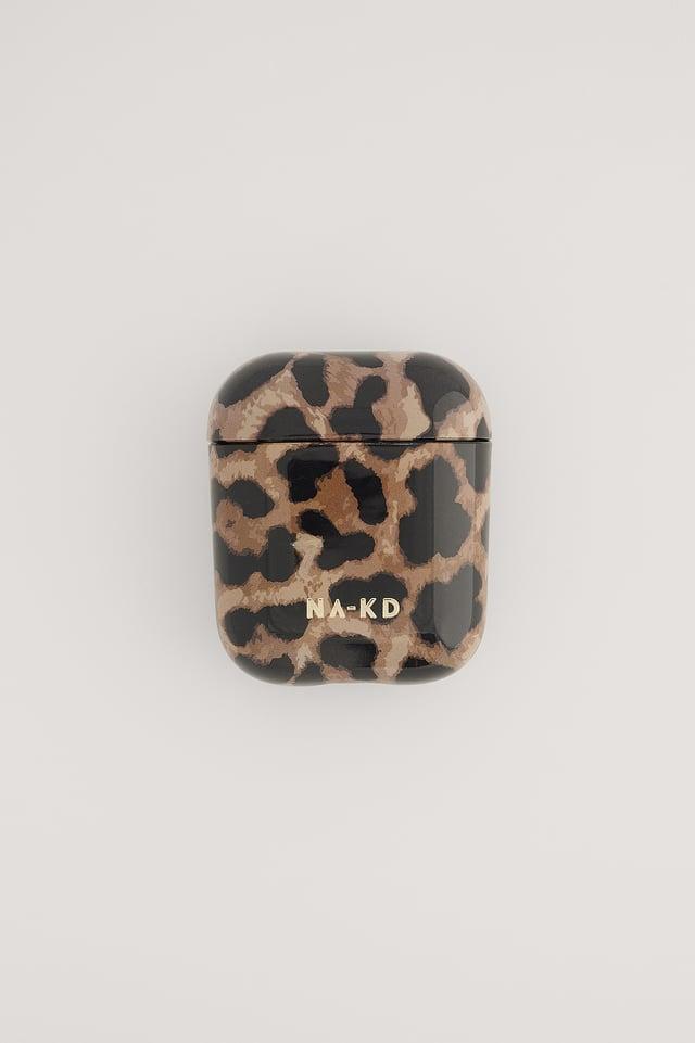Leopard Printed AirPod Case