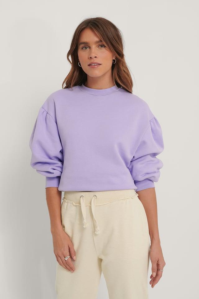 Biologique Sweatshirt Lilac