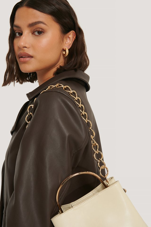 Gold Removable Chunky Bag Chain