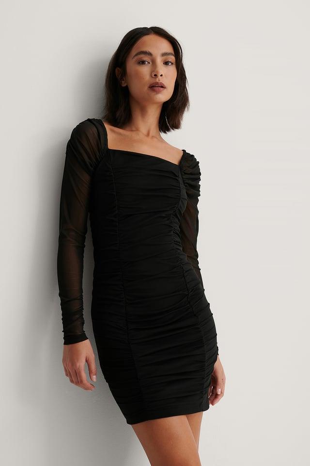 Robe Maille Black
