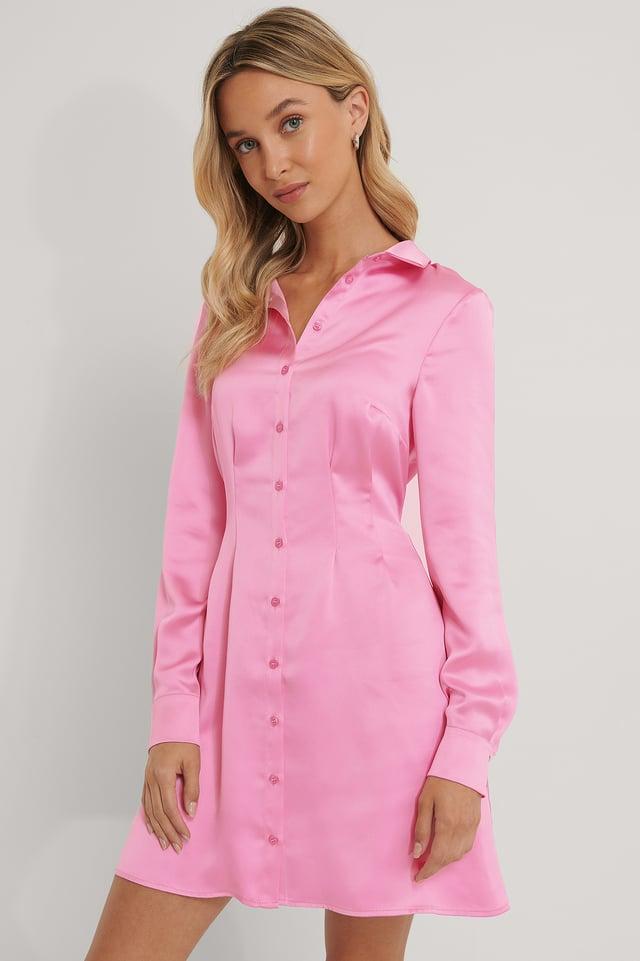 Chemise Satin Pink