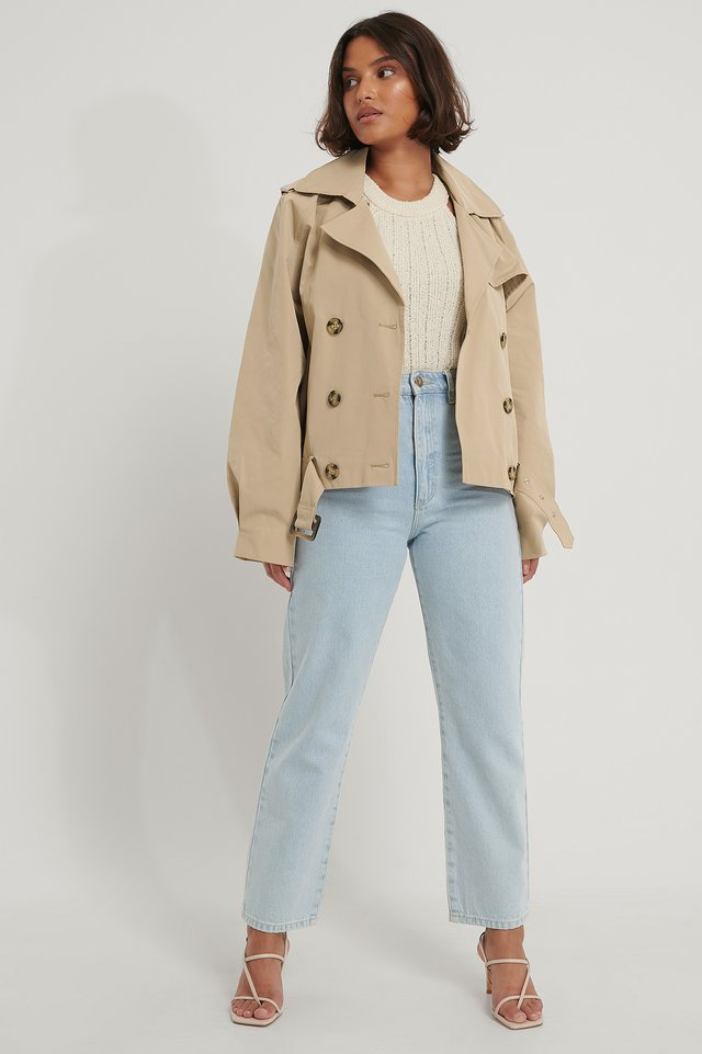 Trench Court Beige