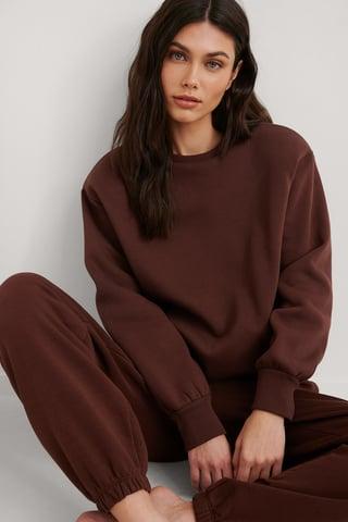 Brown Biologique Sweatshirt
