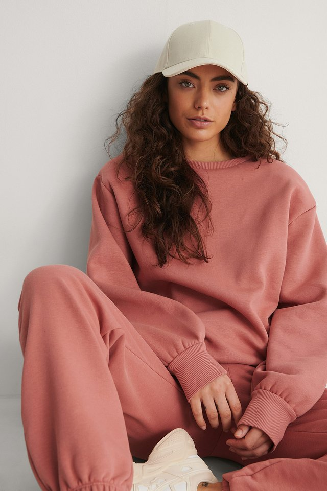 Dusty Pink Biologique Sweatshirt