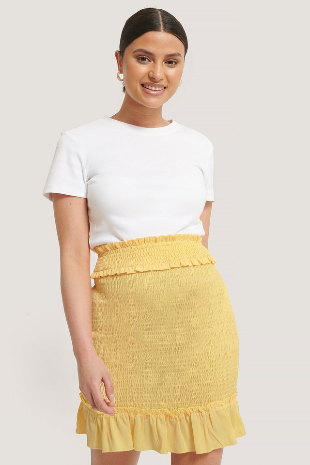 Jupe Courte Yellow