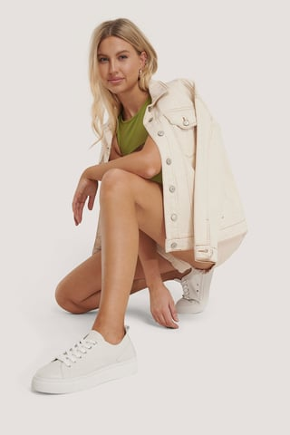 White Sneakers Basiques