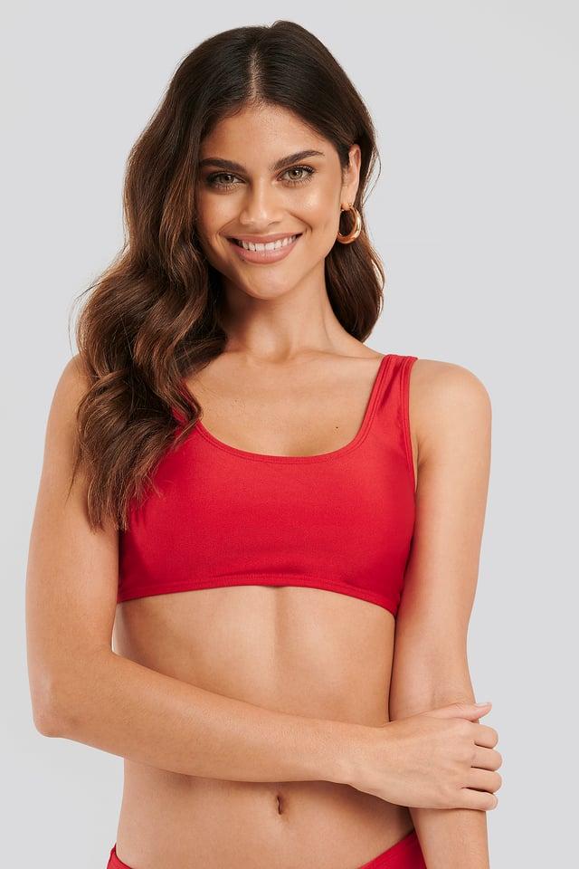 Red Haut De Bikini