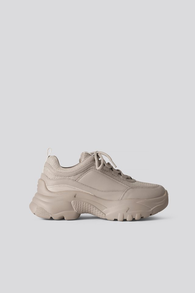 Light Khaki Baskets Chunky