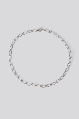Silver Sterling Silver Thin Chain Necklace