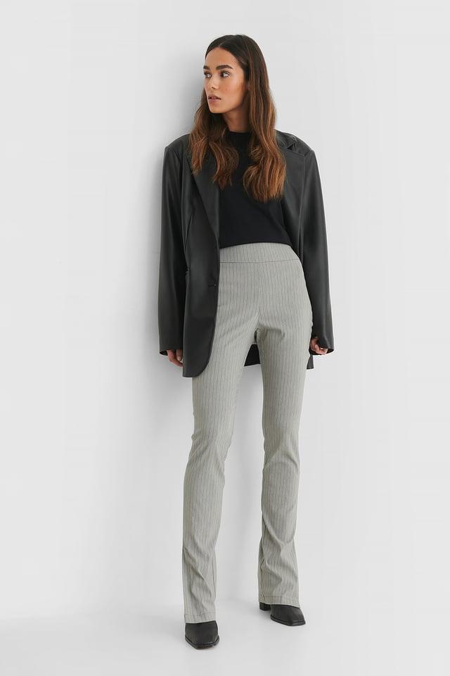 Pantalon Grey Stripe