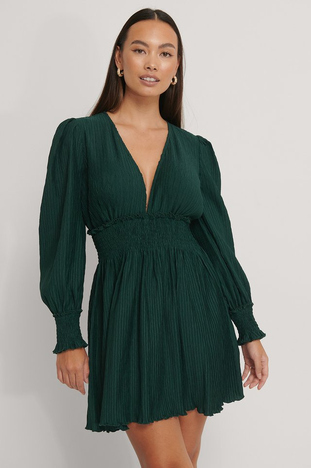Robe Mini Emerald Green