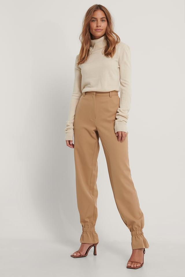 Pantalon De Costume Nougat