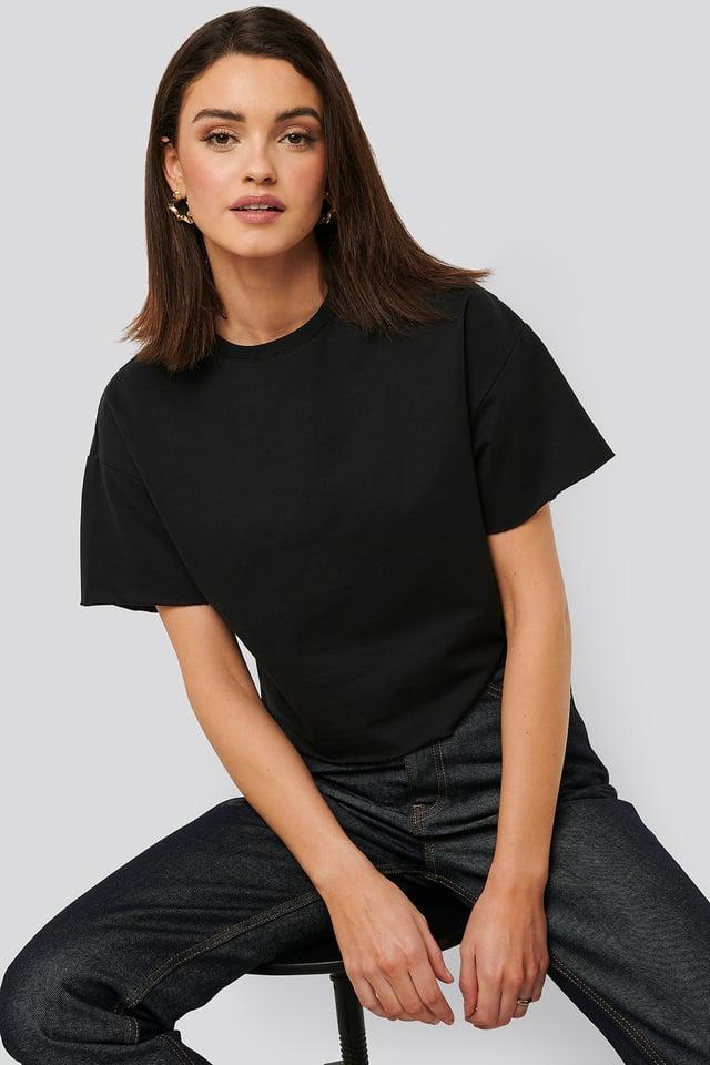 Black Sweatshirt Tee