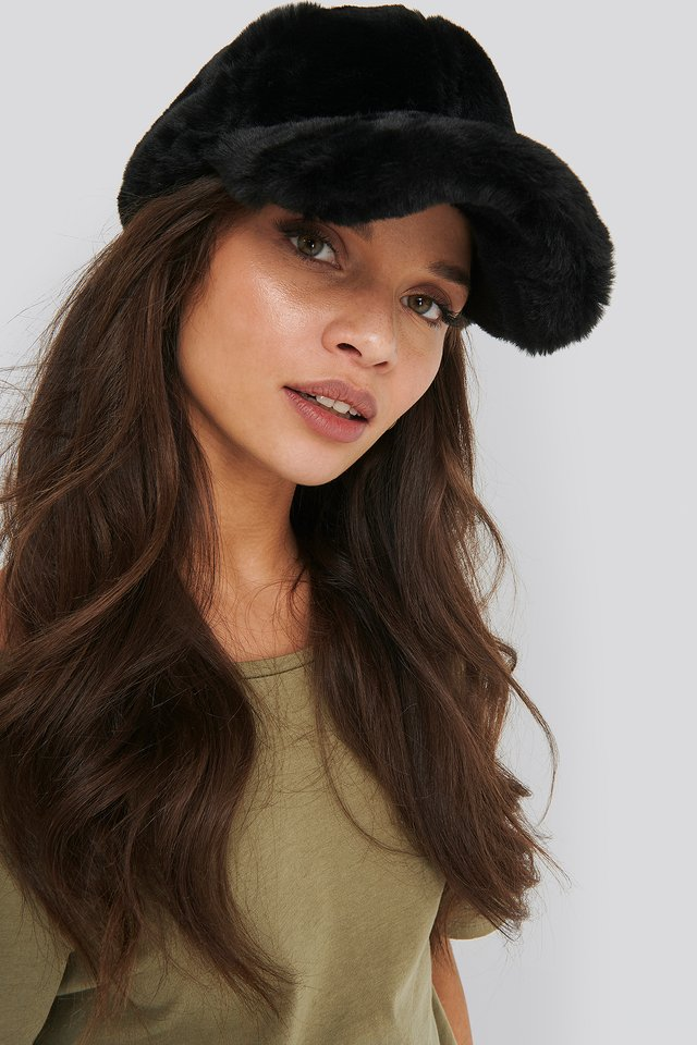 Black Teddy Baseball Cap