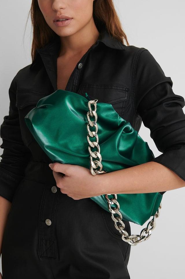 Sac Bourse Emerald Green